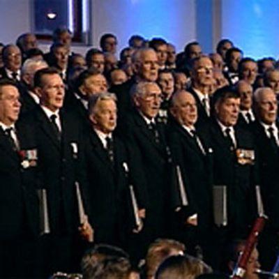 Veteraanien juhlakonsertti vuonna 2007.