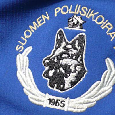 Suomen Poliisikoira ry:n hihamerkki