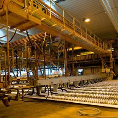 Kuva Bolidenin Kokkolan tehtaalta