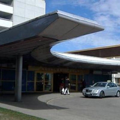 Päijät-Hämeen keskussairaala - ulkokuva