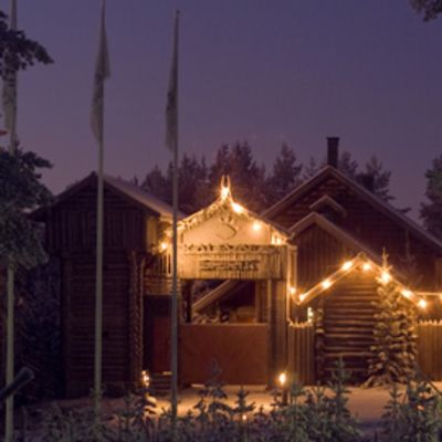 Kalevala Spirit portti jouluvalaistus