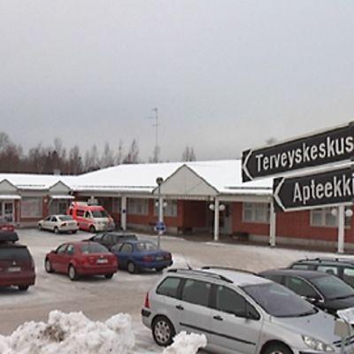 Miehikkälän keskusta
