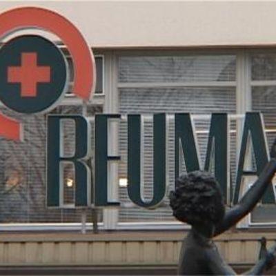Reumasairaalan logo