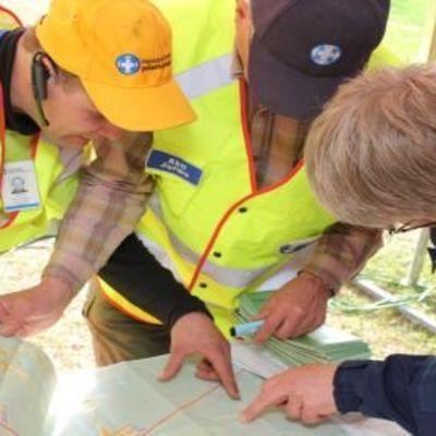 Vapaaehtoisten pelastuspalvelu Vapepa järjesti Taivalkoskella suurharjoituksen 21.5.2010-22.5.2010