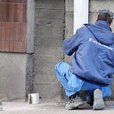 Estonian construction worker