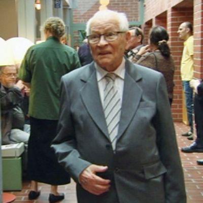 Eelis Levänen haastatteluskuvassa.