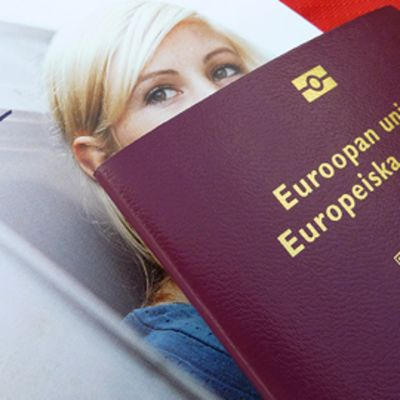 InterRail -lippu ja passi