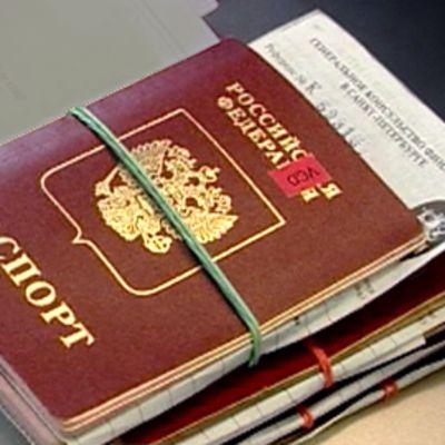 Venäläinen passi.