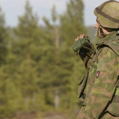 Suomen armeijan sotilas