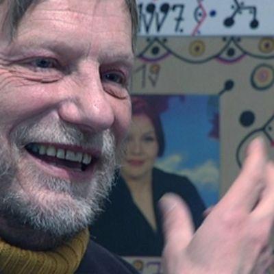 Taiteilija Erkki Pirtolan intohimo on itse tehty taide, ite-taide.