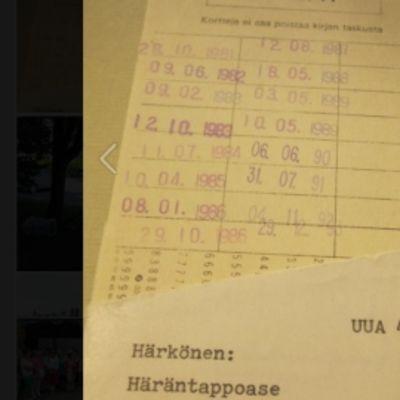 Häräntappoase palautui kirjastoon 20 vuotta myöhässä
