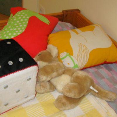 Lasten sänky turvakodissa Joensuussa