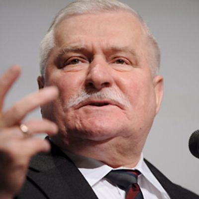 Puolan entinen presidentti Lech Walesa.