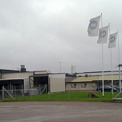 HK-Ruokatalon Säkylän tehdas.