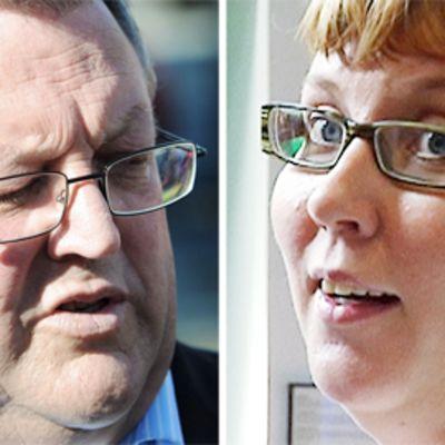 Gerry Brownlee ja Merja Kyllönen