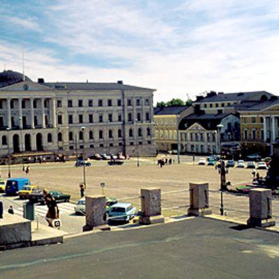Helsingin Senaatintori.