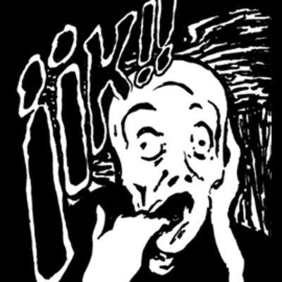 IIK!!-kauhuelokuvafestivaalien logo.