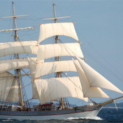 Priki Tre Kronor on tulossa Turun Tall Ships' Races 2009 -purjelaivatapahtumaaan.