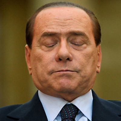 Italian pääministeri Silvio Berlusconi