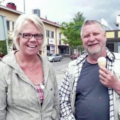Ulla Lahdenmäki ja Kari Väänänen