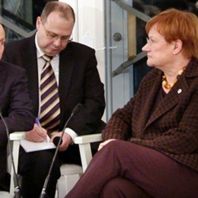 Vladimir Putin ja Tarja Halonen