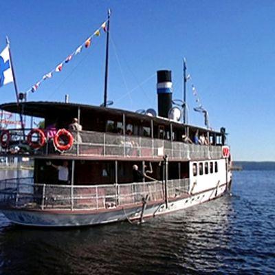 Tarjanne-laiva Näsijärvellä