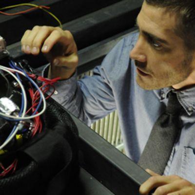 Jake Gyllenhaal elokuvassa Source Code.