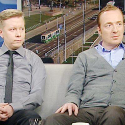 Ano Sirppiniemi ja Sami Häikiö