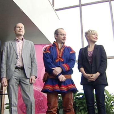 Sebastian Fagerlund, Tapani Rinne, Wimme Saari, Chisu ja Tuomas Norvio