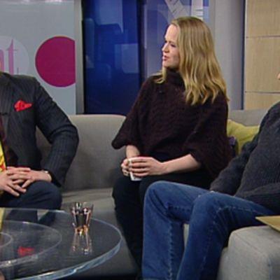 Jälkiviisaat Jan Erola, Anu Silfverberg ja Kalle Isokallio