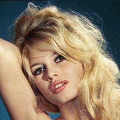 Näyttelijä Brigitte Bardot.
