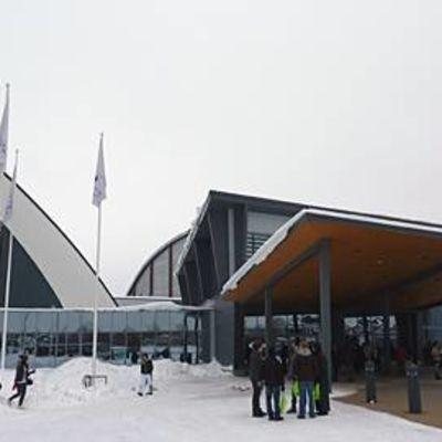Tampereen messu- ja urheilukeskuksen edustaa.