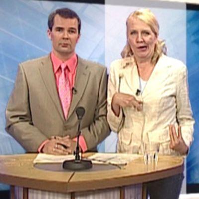 Ari Welling ja Miitta-täti.