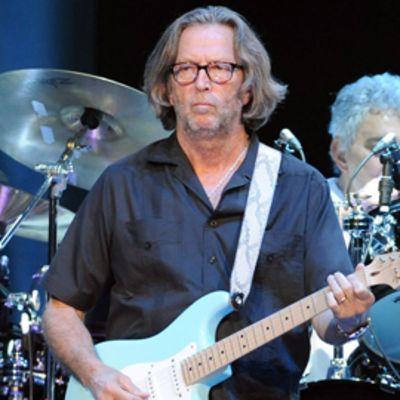 Eric Clapton Berliinissä 2010.