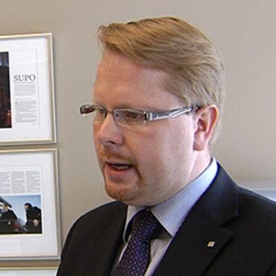 Suojelupoliisin johtaja Ilkka Salmi