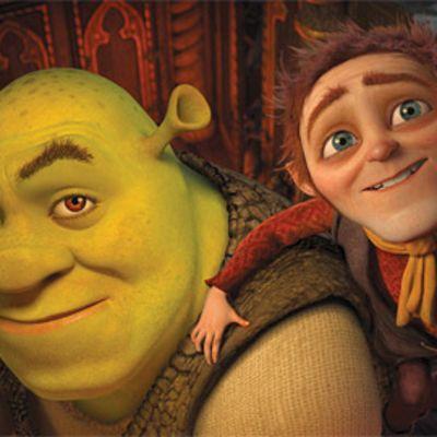 Kuva neljännestä Shrek-elokuvasta