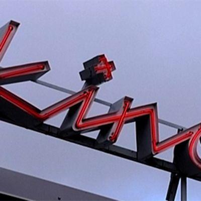 Kino Tapiolan kyltti Espoossa