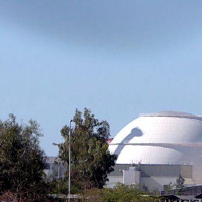 Ydinvoimala Bushehrissa, etelä-Iranissa.
