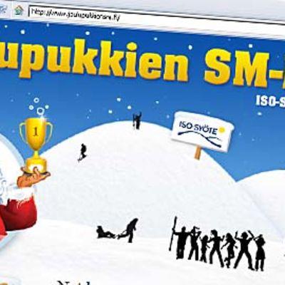 Joulupukkien SM-kisat.