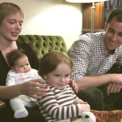 Maura Roni, Jeremy Tayler ja lapset.