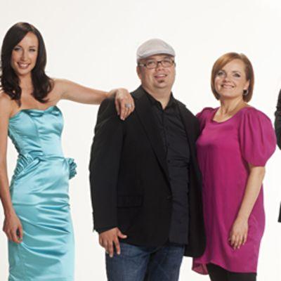 Idols 2011: Heikki Paasonen, Niina Herala, Sami Pitkamo, NinaTapio ja Jone Nikula.