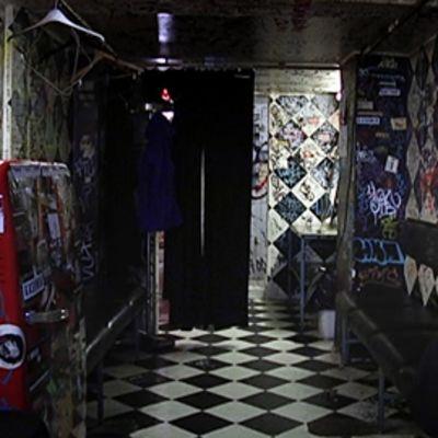 Tavastia-klubin takahuone.
