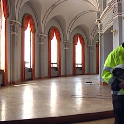 Työjohtaja Svenska Teaterissa