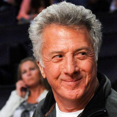 Näyttelijä Dustin Hoffman toukokuussa 2010