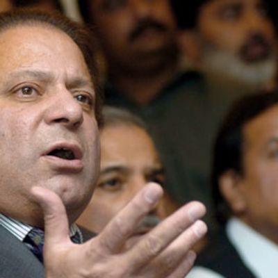Nawaz Sharif, pakistanilainen oppositiojohtaja