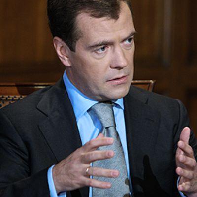 Dmitri Medvedev heinäkuussa 2009.