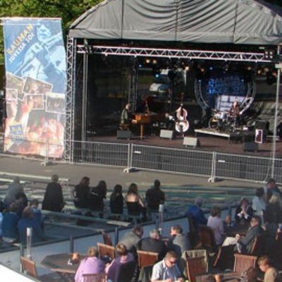 Konserttilava Rauman Summer Jazz-tapahtumassa.