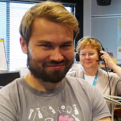 Pohjois-Pohjanmaan ja Kainuun Vasemmiston toiminnanjohtaja Olli Kohonen
