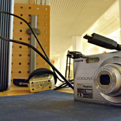 Tietokone ja kamera