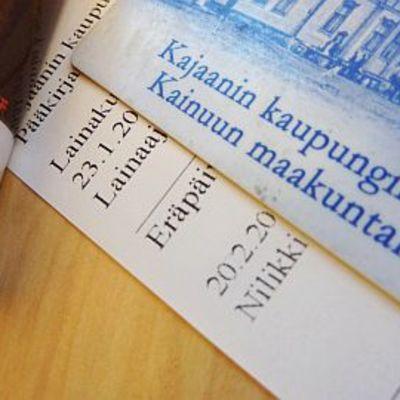 Suosituimpia kirjoja lainataan vuodessa 200-300 kertaa Kajaanissa.